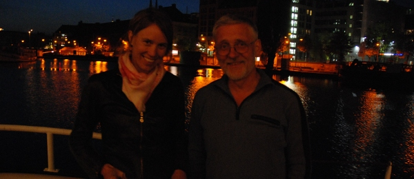 Katja und Michael im Museumshafen