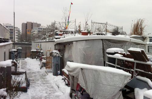 Hausboote Treptower Hafen