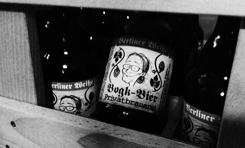 Andreas Bogk in seiner Brauerei