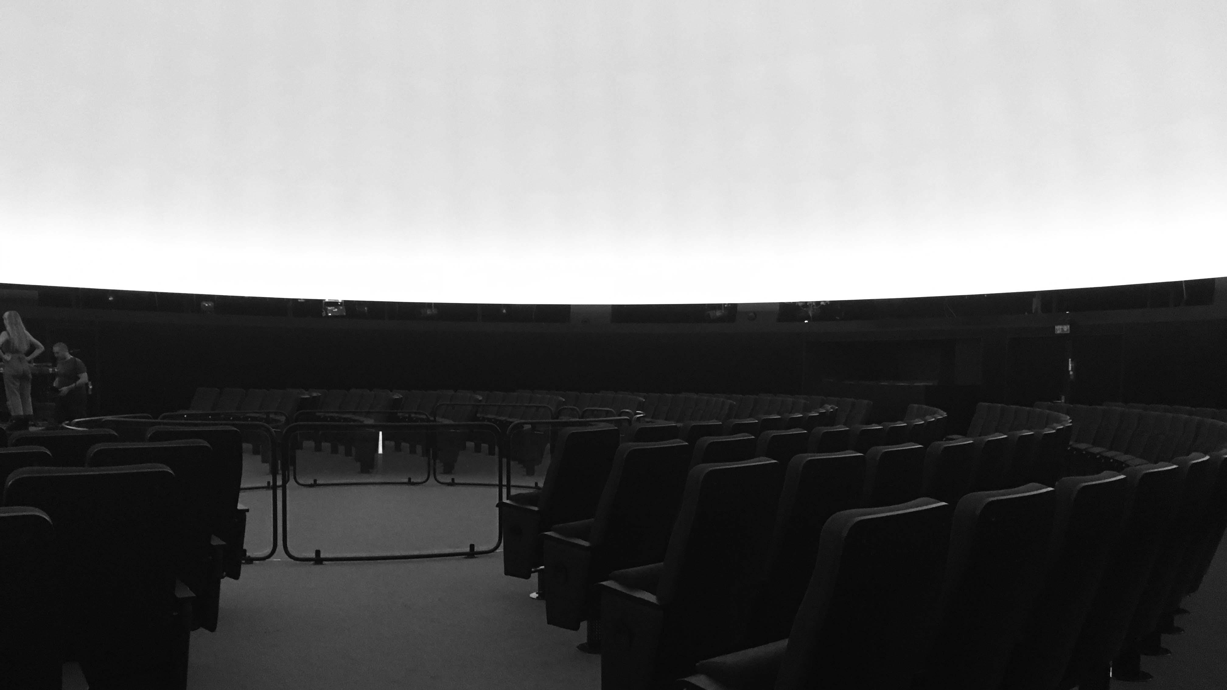 Planetarium, leerer Saal